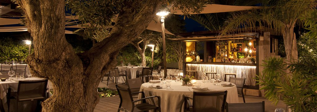 Luksusrestaurant i Migjorn, Formentera