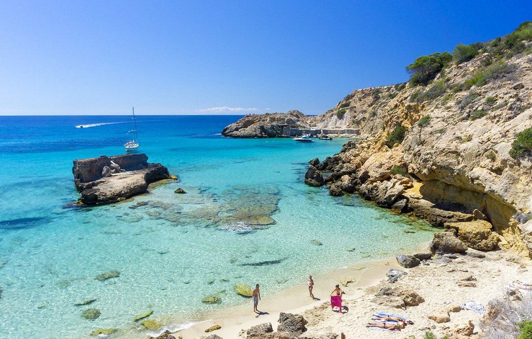 Some of the best beaches in Ibiza
