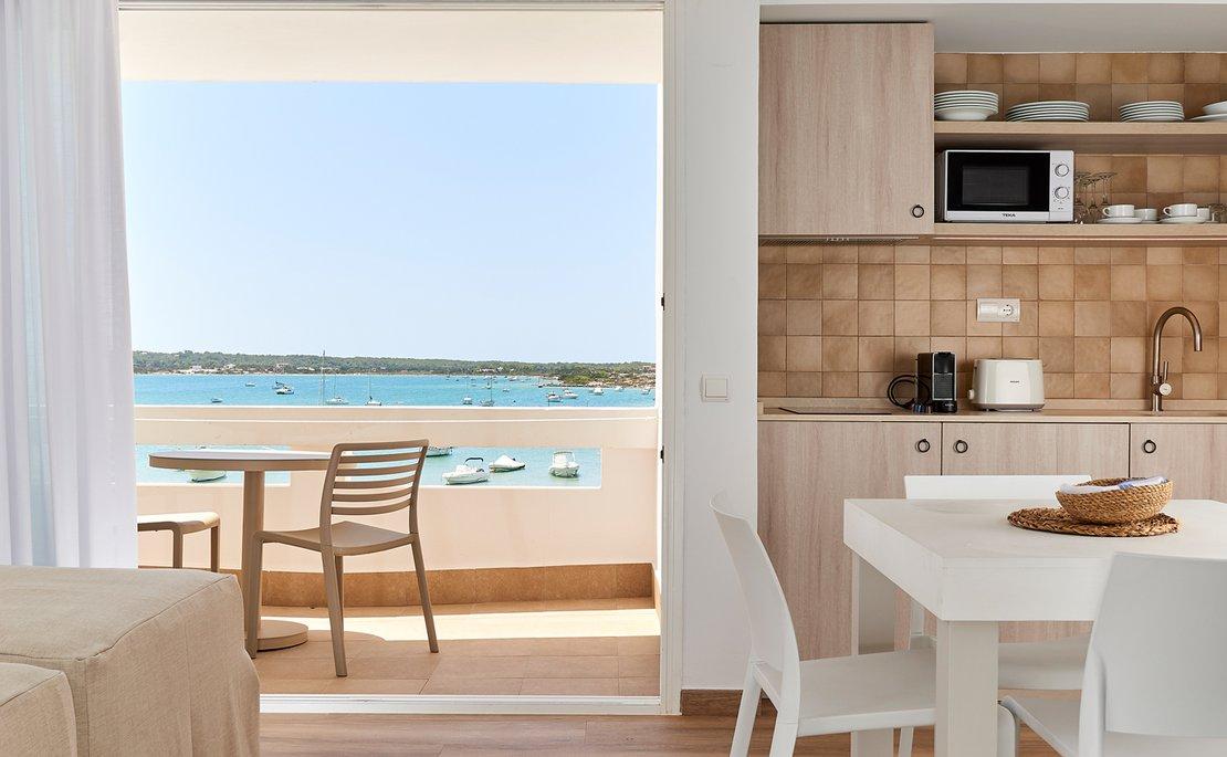 Apartamento 4 pax. Vista mar