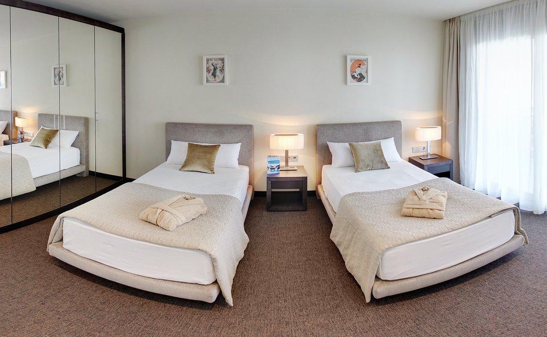 Habitación twin-2 camas individuales