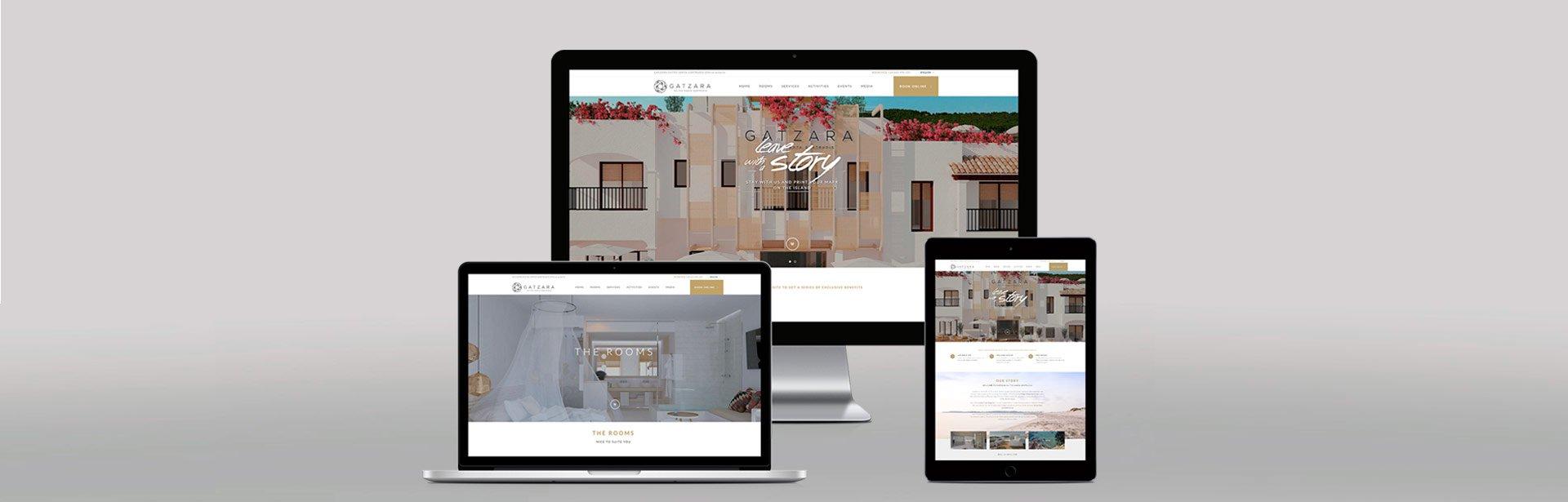 Dsieño web Hotel Gatzara