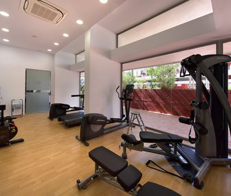 Discover our apartments with gym in Figueretas beach, Ibiza