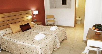 Hotel Ca Marí on Migjorn beach, Formentera