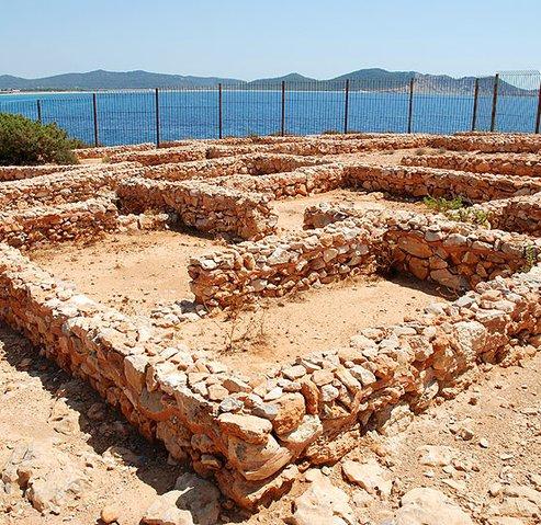 Phoenician settlement of Sa Caleta