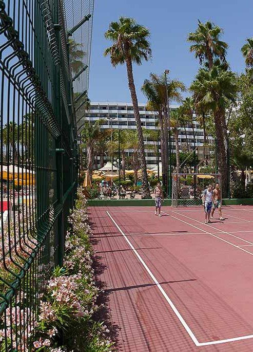 Multisport court and Minigolf