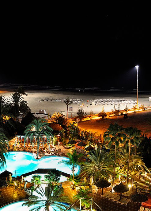 San Agustín Beach at Night