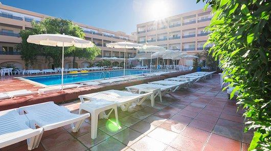 Apartments at Sant Josep beach, San Antonio bay, Ibiza