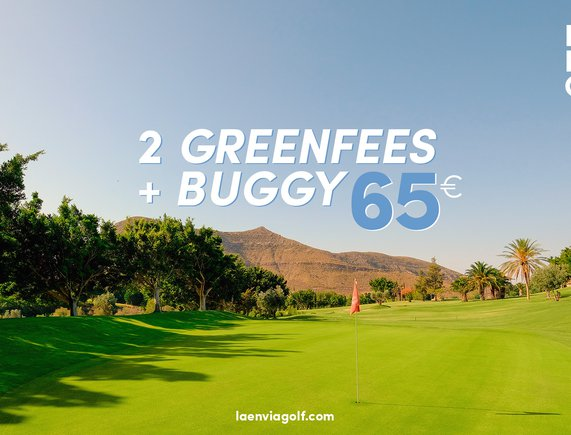 Oferta 2 Green Fee+Buggy