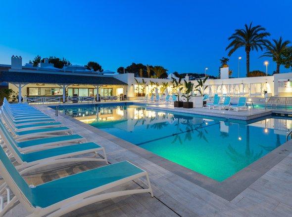 Hôtels à Cala Tarida Ibiza Club Cala Tarida Groupe Playasol