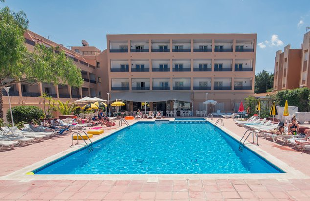 Welcome to azuLine Sunshine apartments at Sant Josep beach, San Antonio bay, Ibiza