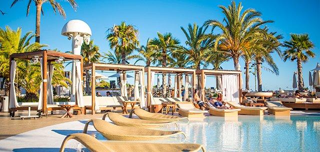 Hotel Pacha, Luxushotel auf Ibiza