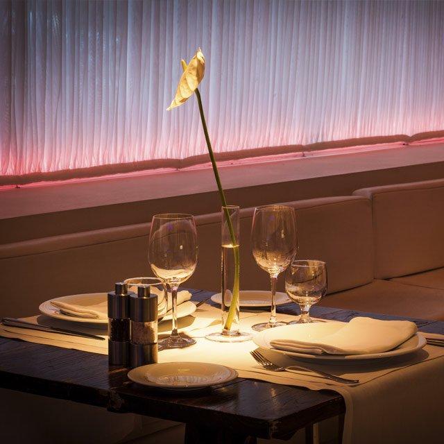 Restaurante Lounge el Hotel Pacha Ibiza