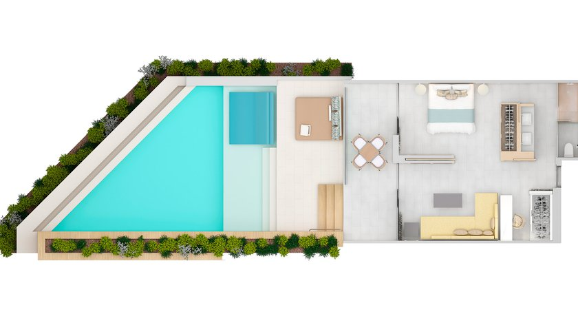 Prestige Suite Private Pool - NEW 2020-9