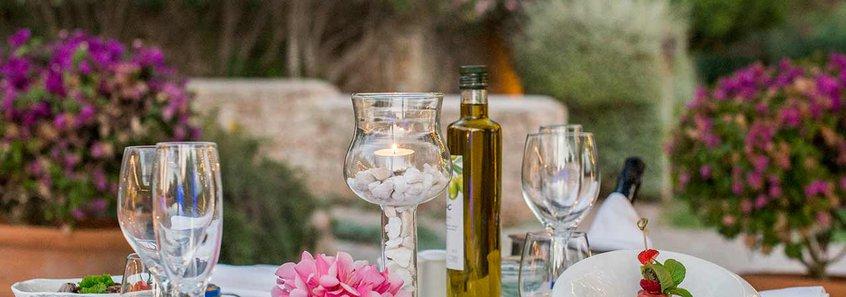 Can Lluc restaurante hotel rural Ibiza