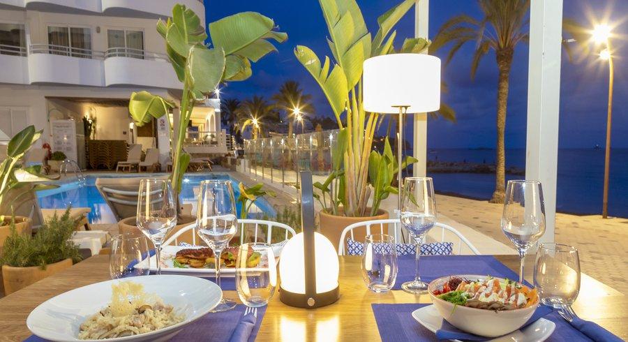 Horizon, Mediterranean restaurant.