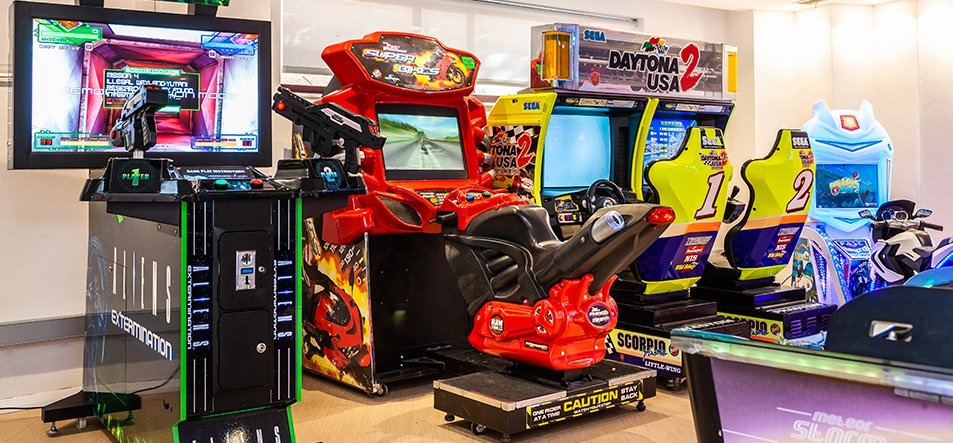 Games Arcade. New for 2019.-2