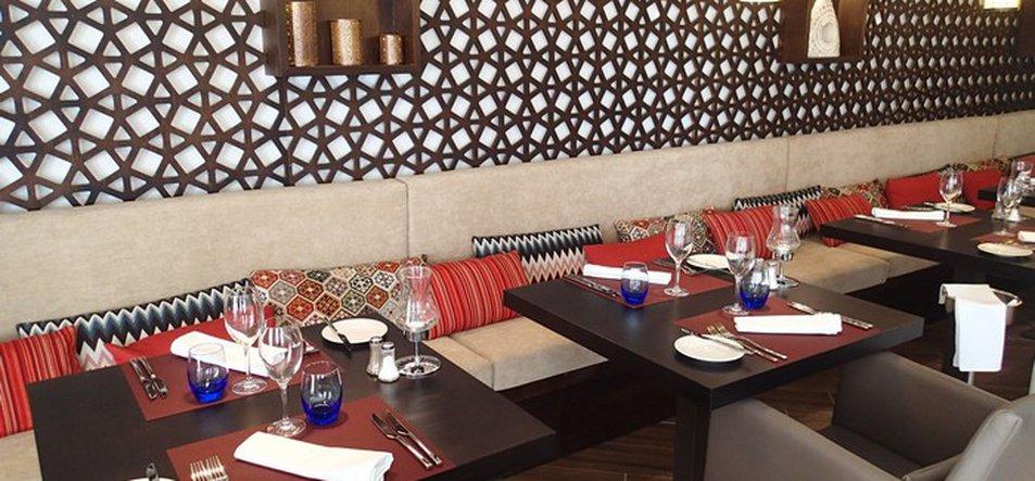 Restaurante Le Souk <br>Fusión Marroquí, India y Asiática -2