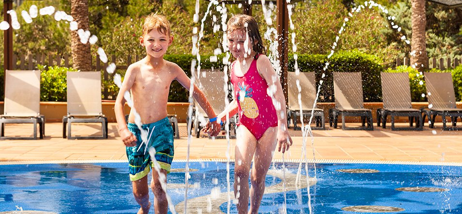 Spray Pad Fountain-2