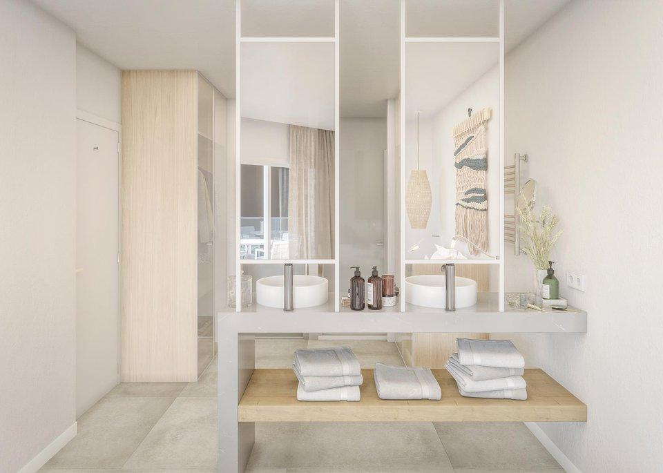 Suite Presidencial de 2 dormitorios con Vistas al Mar Panorámicas y Gran Terraza-3