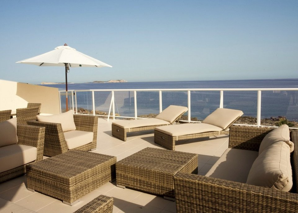 Suite Deluxe 3 Bedroom Apartment with Sea View and Large Terrace-1
