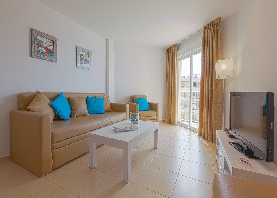 Appartement Deluxe avec 2 Chambres et Vue sur la Mer-3