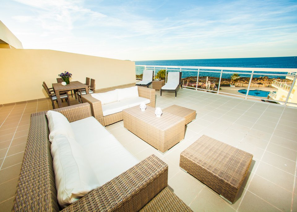 Suite Deluxe 3 Bedroom Apartment with Sea View and Large Terrace-2