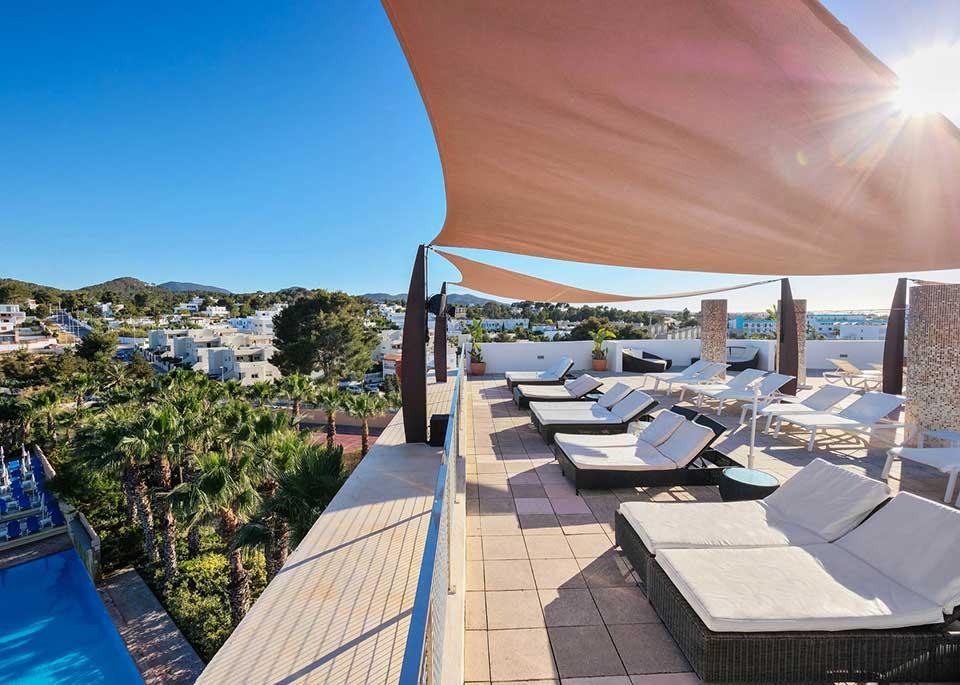 Family Hotel In San Antonio Bay, Ibiza  Azuline Hotel Bergantn-2183
