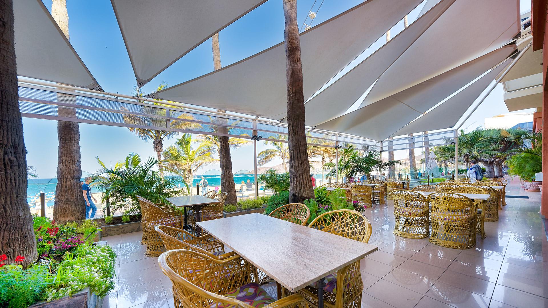 Panoramic Restaurant In Las Palmas De Gran Canaria Hotel