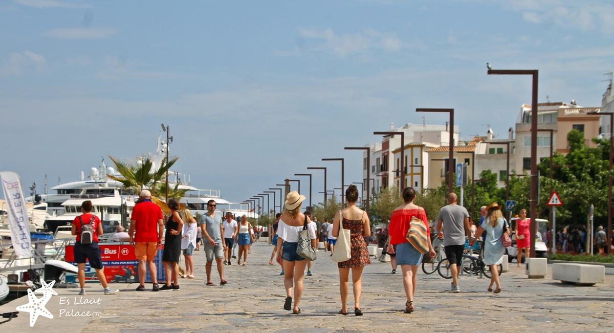 Imagen: Ibiza Puerto casco antiguo