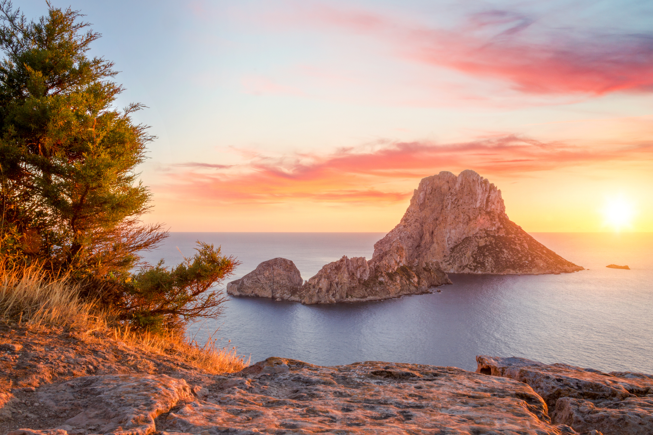 Walking through the nature of Ibiza