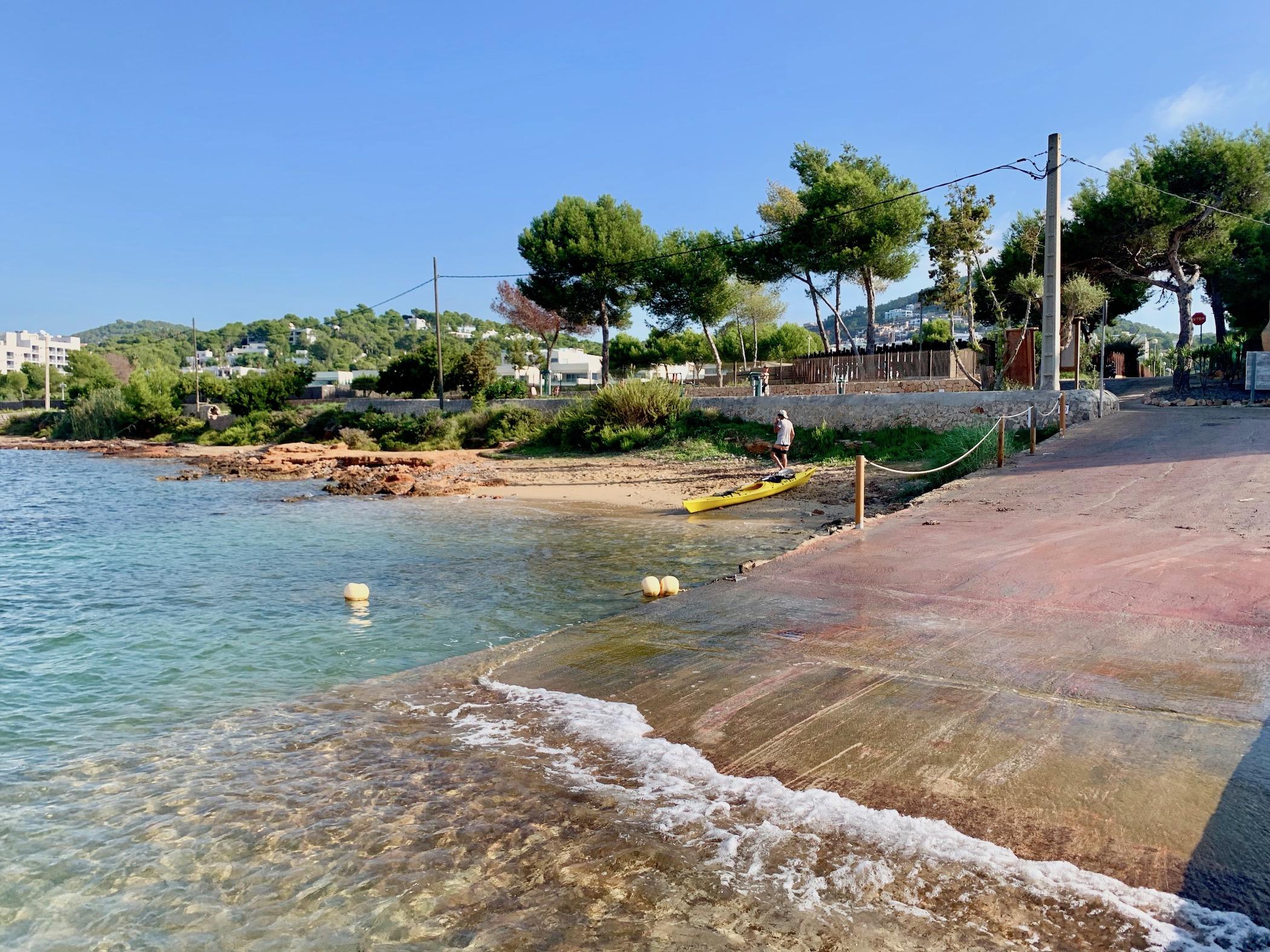 Imagen: playa talamanca sa punta ibiza