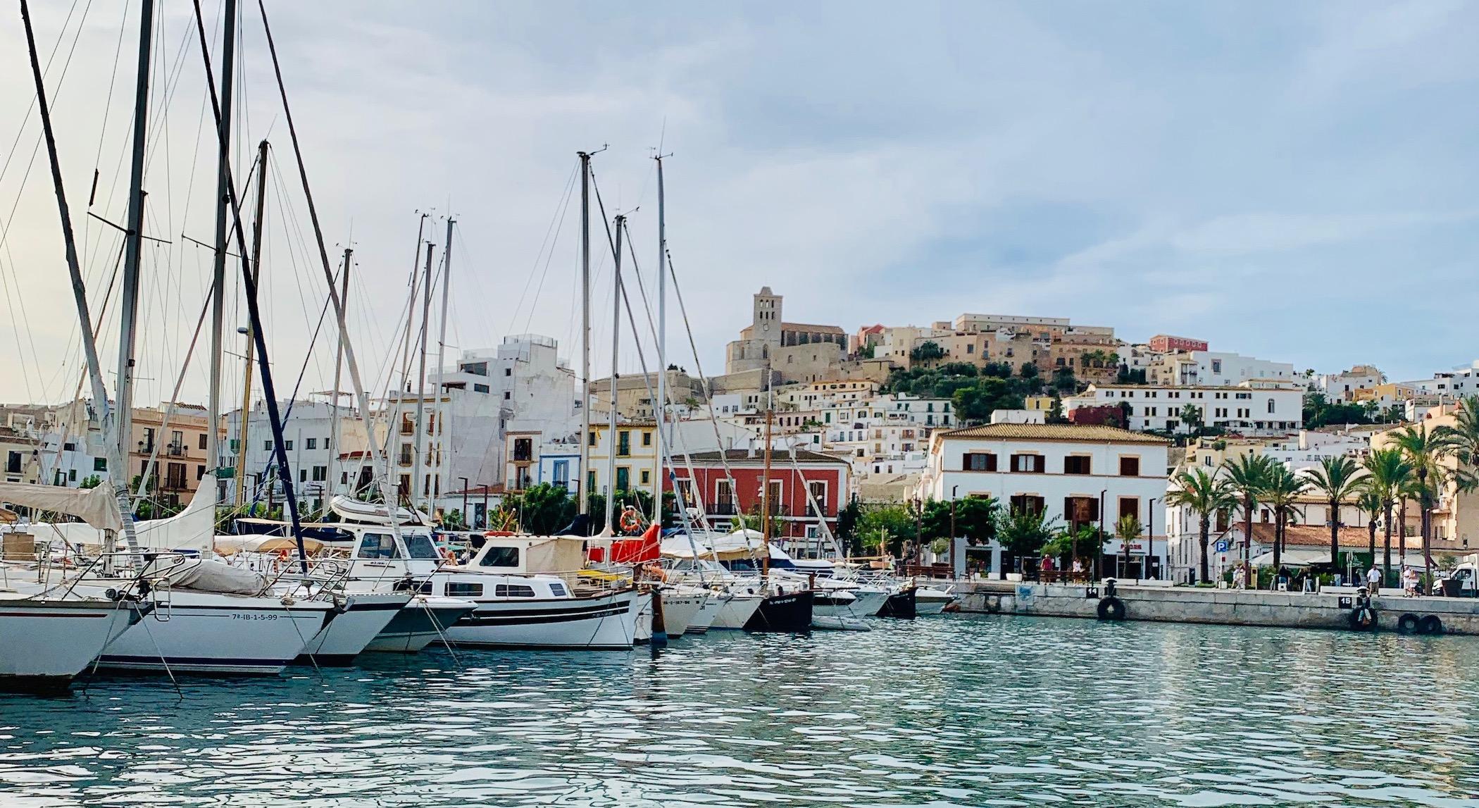 Ibiza town beaches