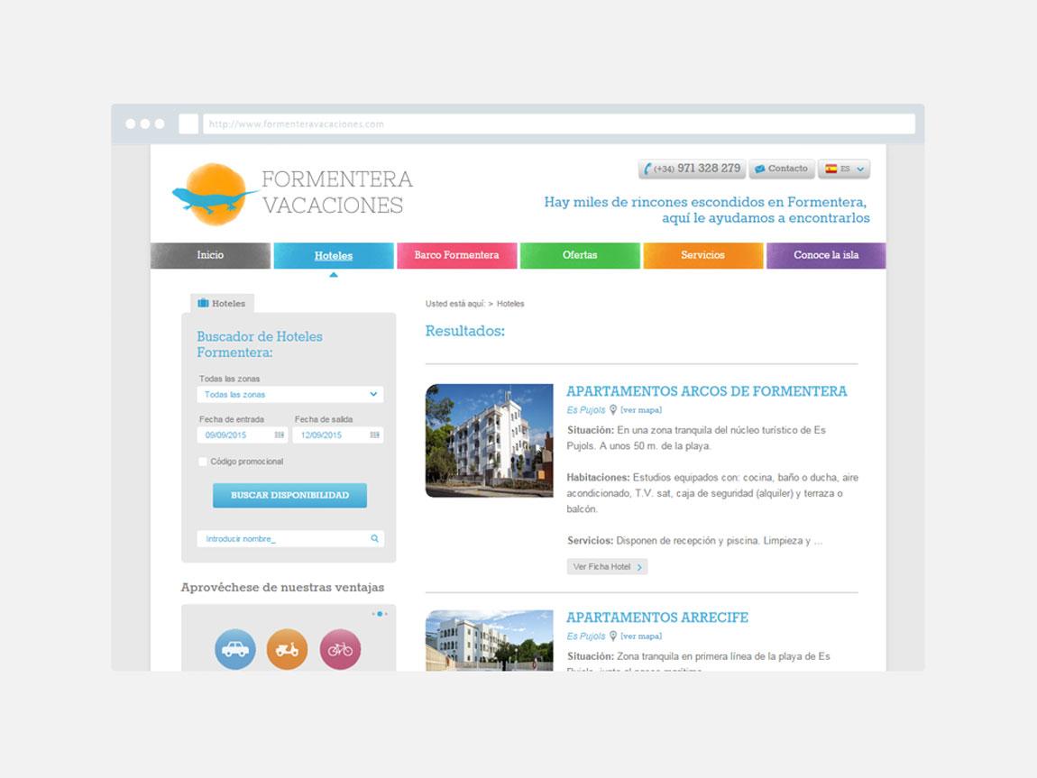 Posicionamiento web Ibiza y Formentera