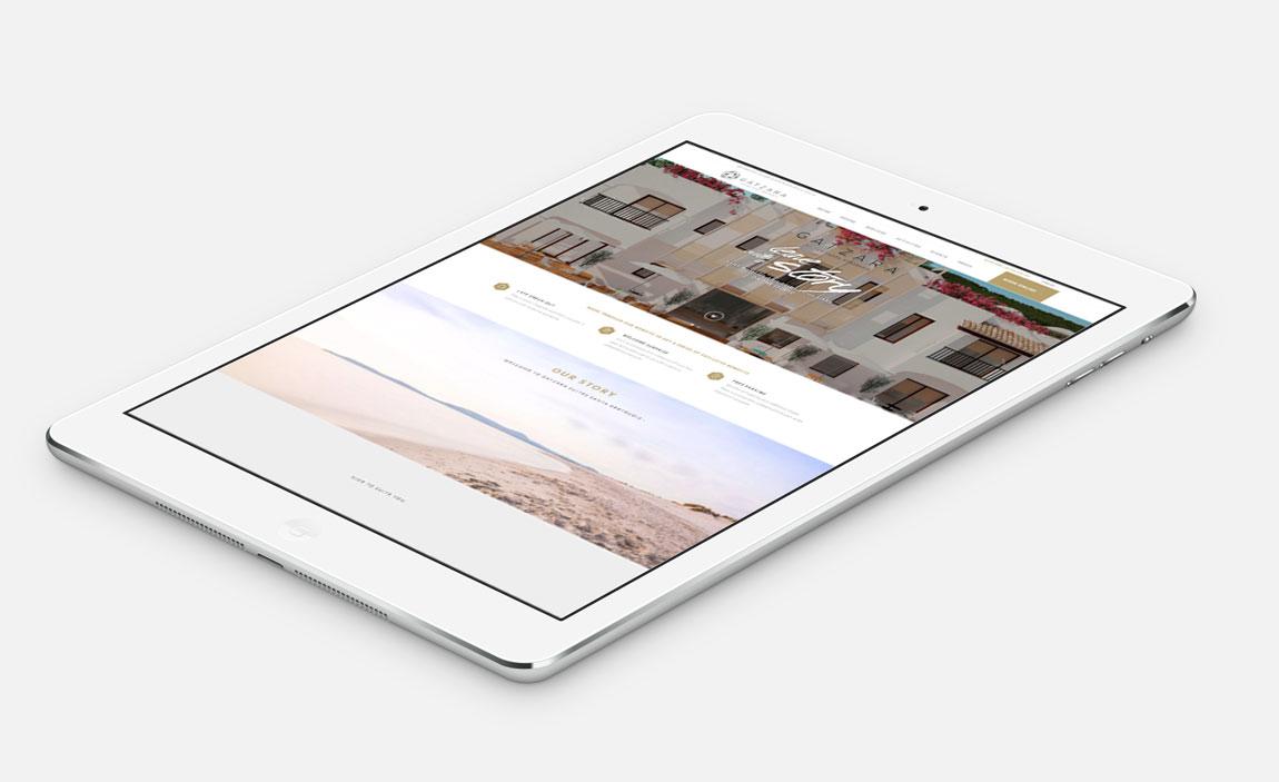 Hotel Gatzara Ibiza Tablet