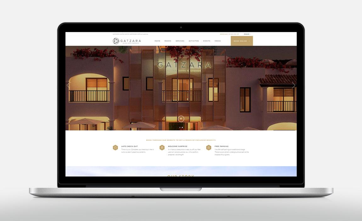 Diseño web Hotel Gatzara Ibiza