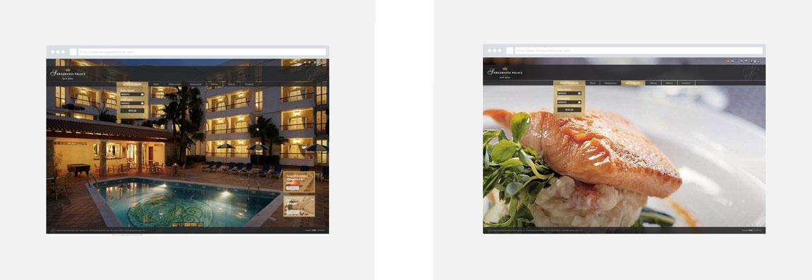 Diseño web Hotel S'Argamassa Palace