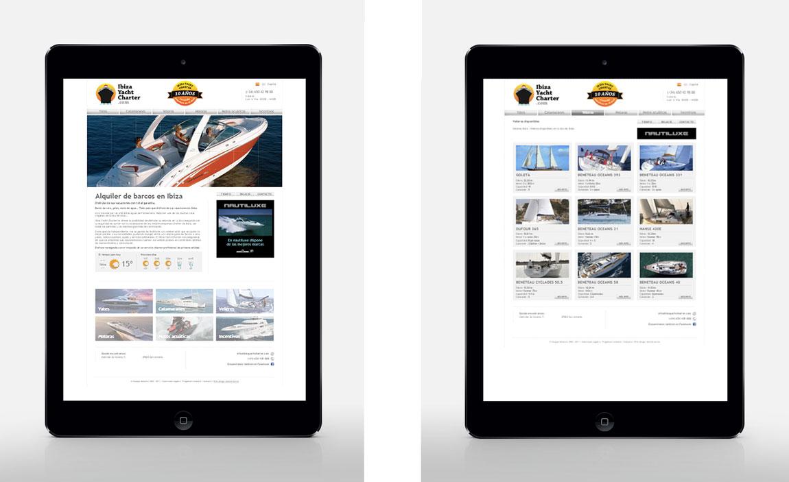 Posicionamiento web Ibiza Yacht Charter