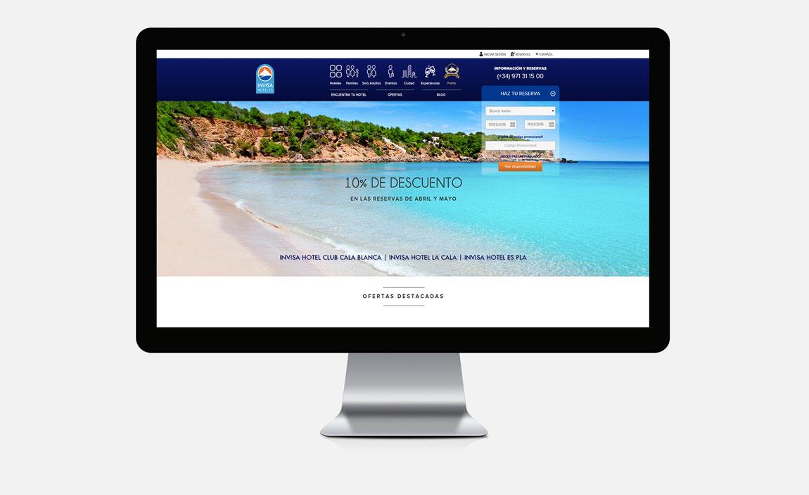 Invisa Hoteles desktop
