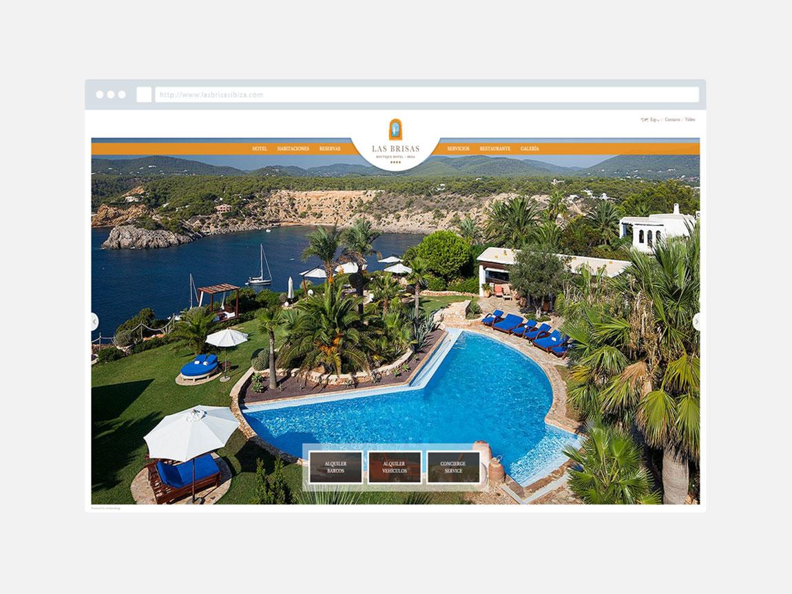 Desarrollo web Las Brisas de Ibiza