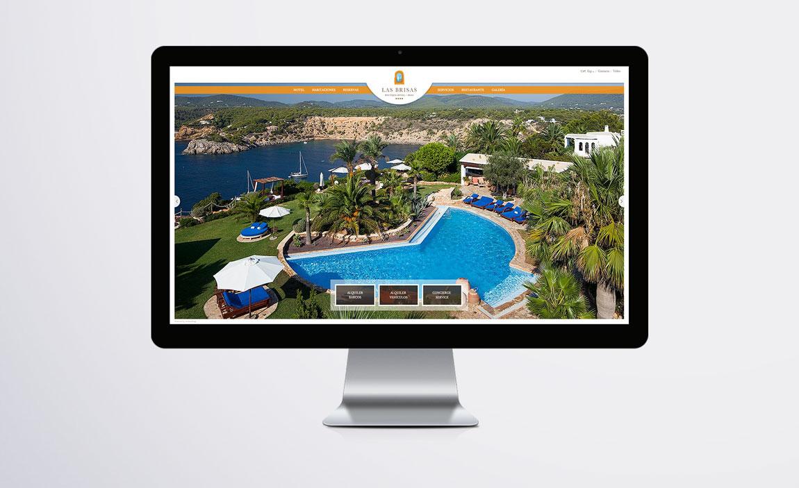 Posicionamiento web Las Brisas de Ibiza
