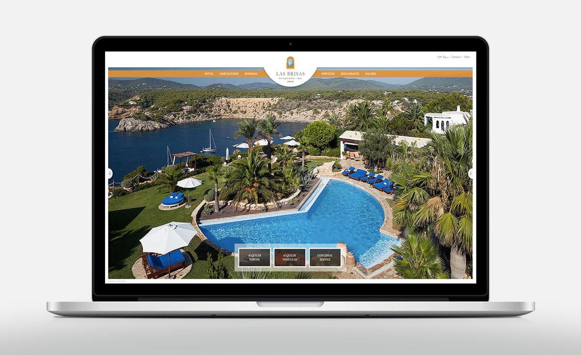 Diseño web Las Brisas de Ibiza