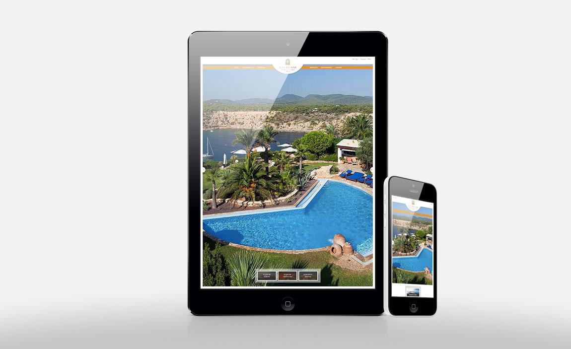 Servicios web Las Brisas de Ibiza