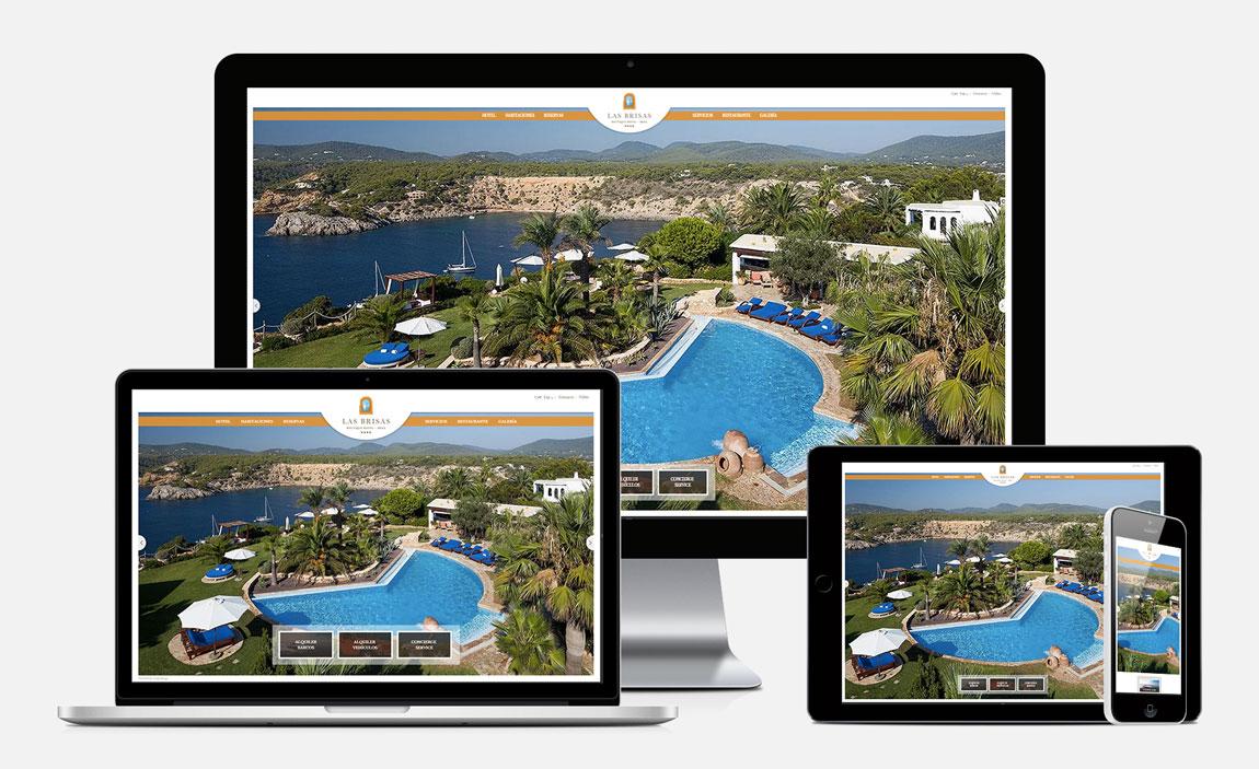 Las Brisas de Ibiza responsive design