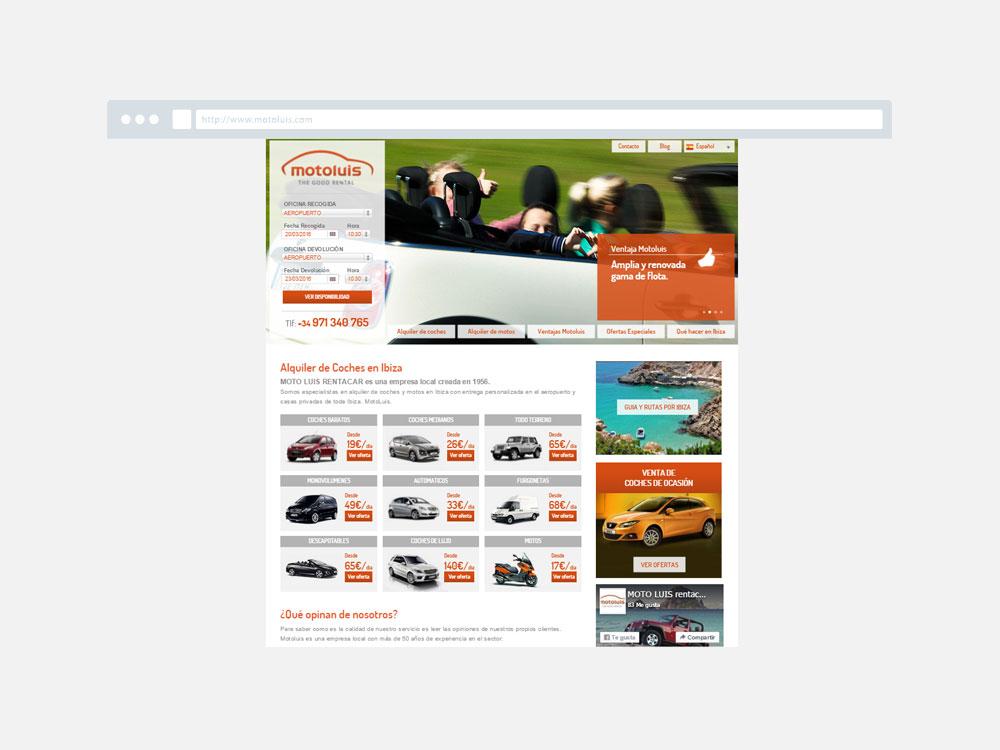 Web Motoluis