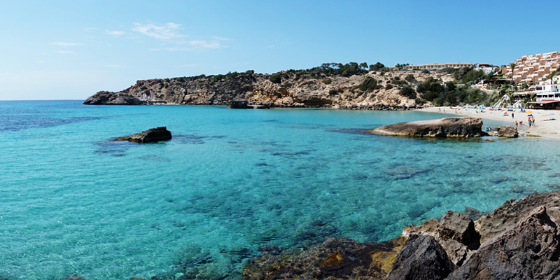 Find out more about our hotels in Cala Tarida | Playasol Ibiza Hotels