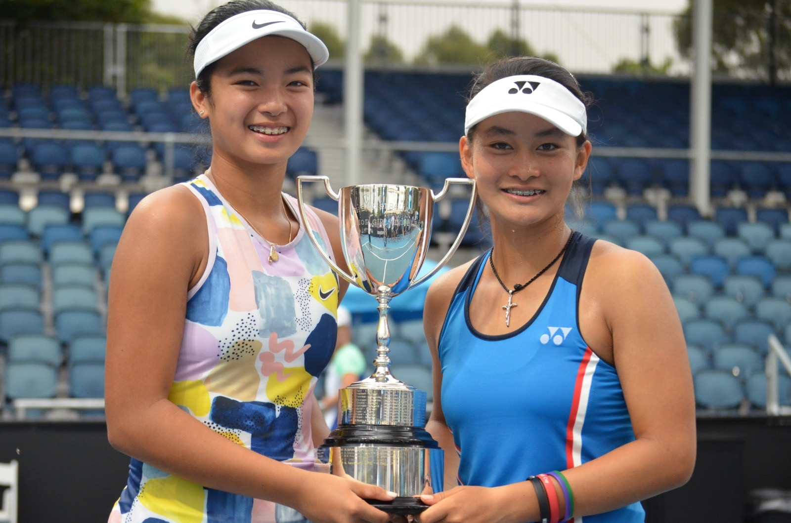 Alex Eala, Australian Open doubles champion
