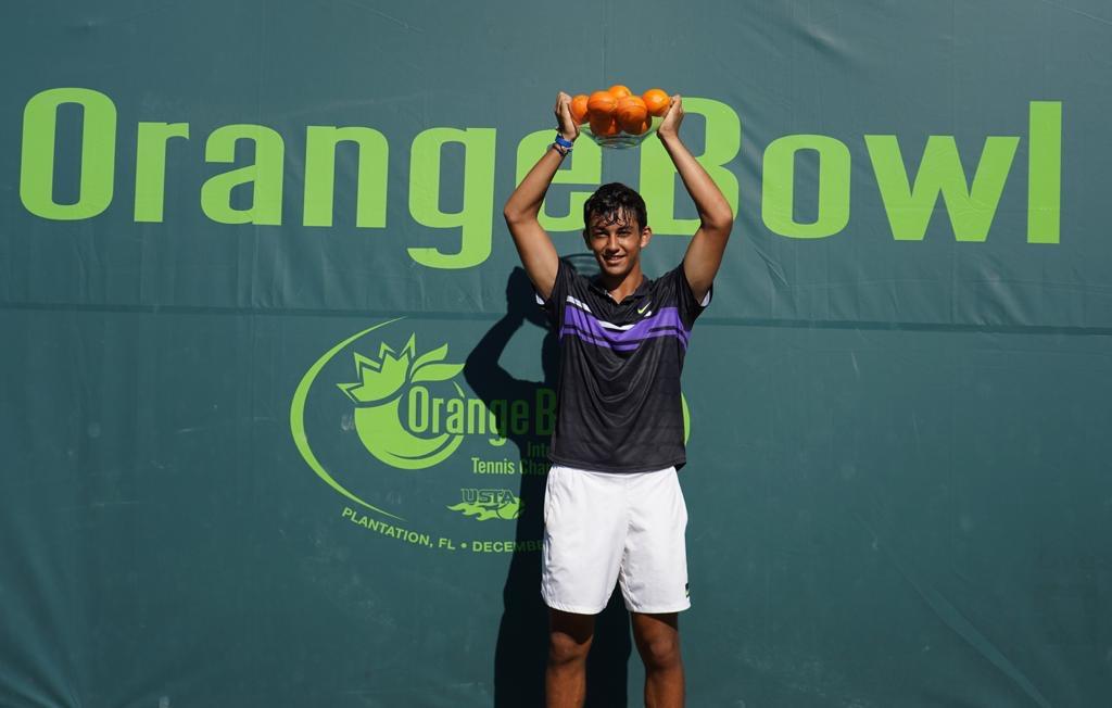 Daniel Rincón produces an historic double for the Rafa Nadal Academy at the Orange Bowl