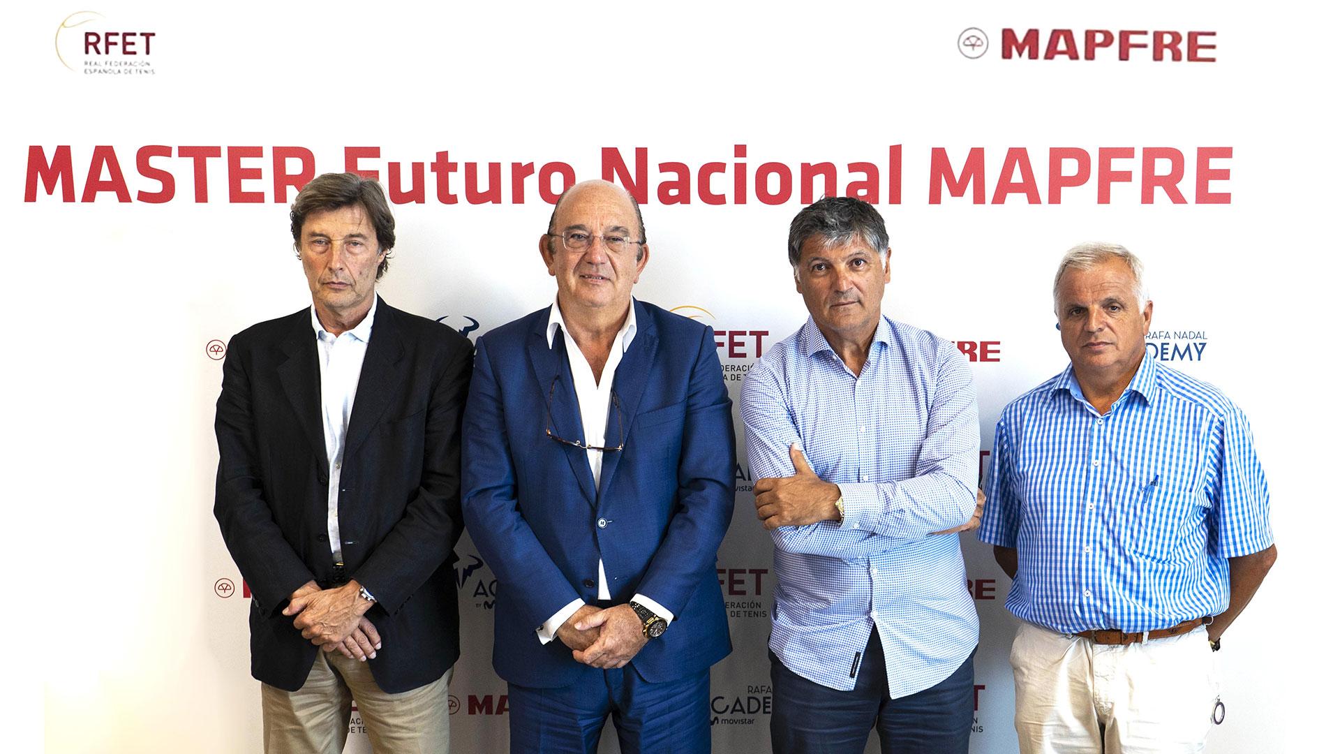"""El nuevo """"MASTER Futuro Nacional MAPFRE"""" se celebrará en la Rafa Nadal Academy by Movistar"""