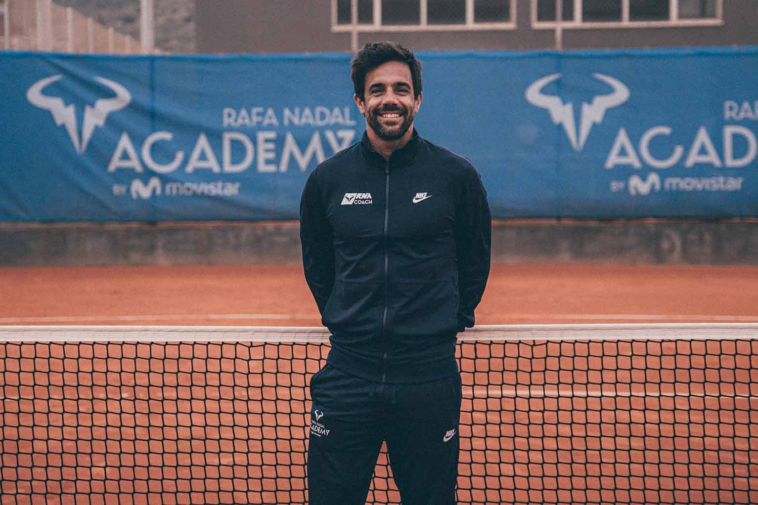Gustavo Marcaccio se incorpora a la Rafa Nadal Academy by Movistar