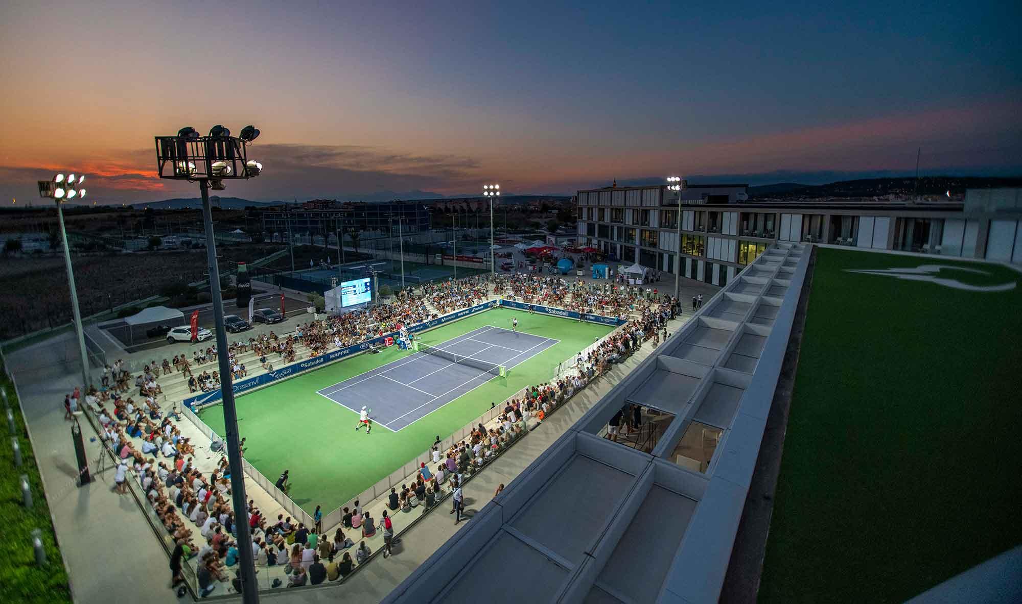 La alta competición se cita en la Rafa Nadal Academy by Movistar